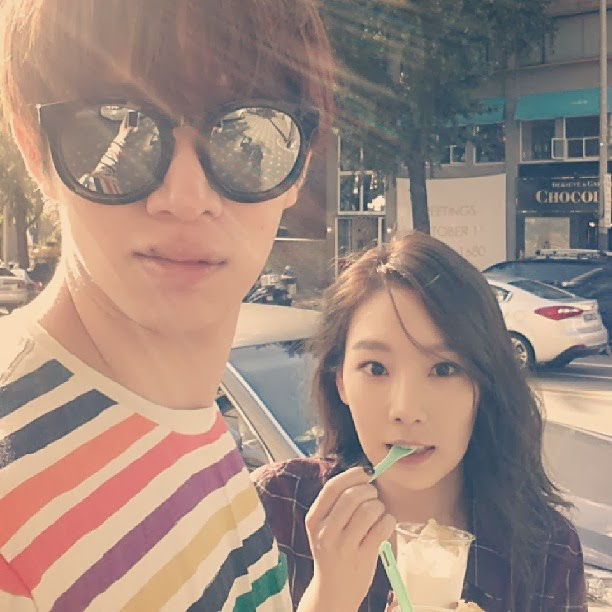 Heechul and Taeyeon's Ice Cream Date