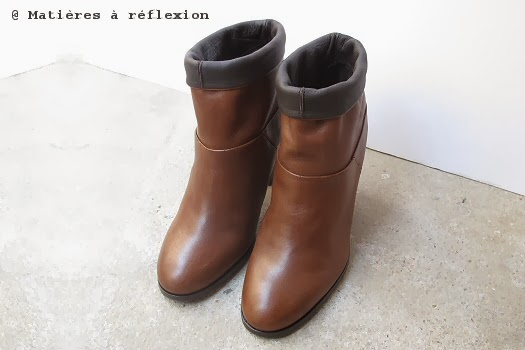 Low boots talon Atelier do Sapato