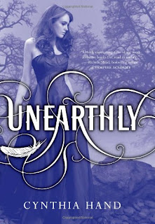 book cover of Unearthly by Cynthia Hand
