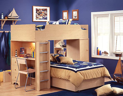 wood children bedroom furniture