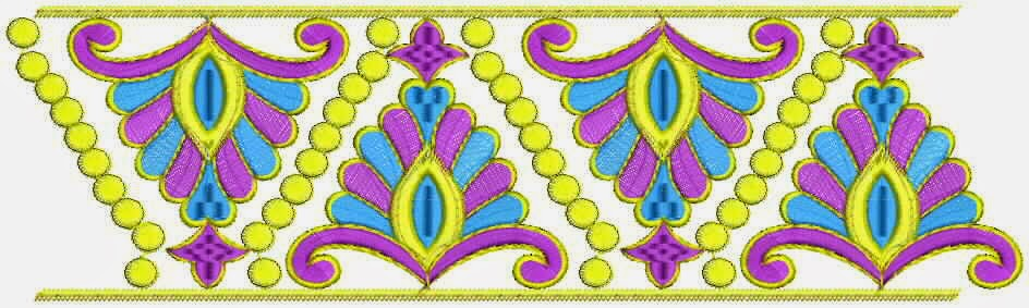 Free Nice Lace Border Designs ~ Embdesigntube