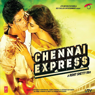 Shahrukh Khan and Deepika Padukone Chennai Express Wallpaper