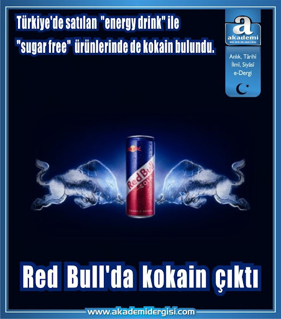 Red Bull'da kokain çıktı