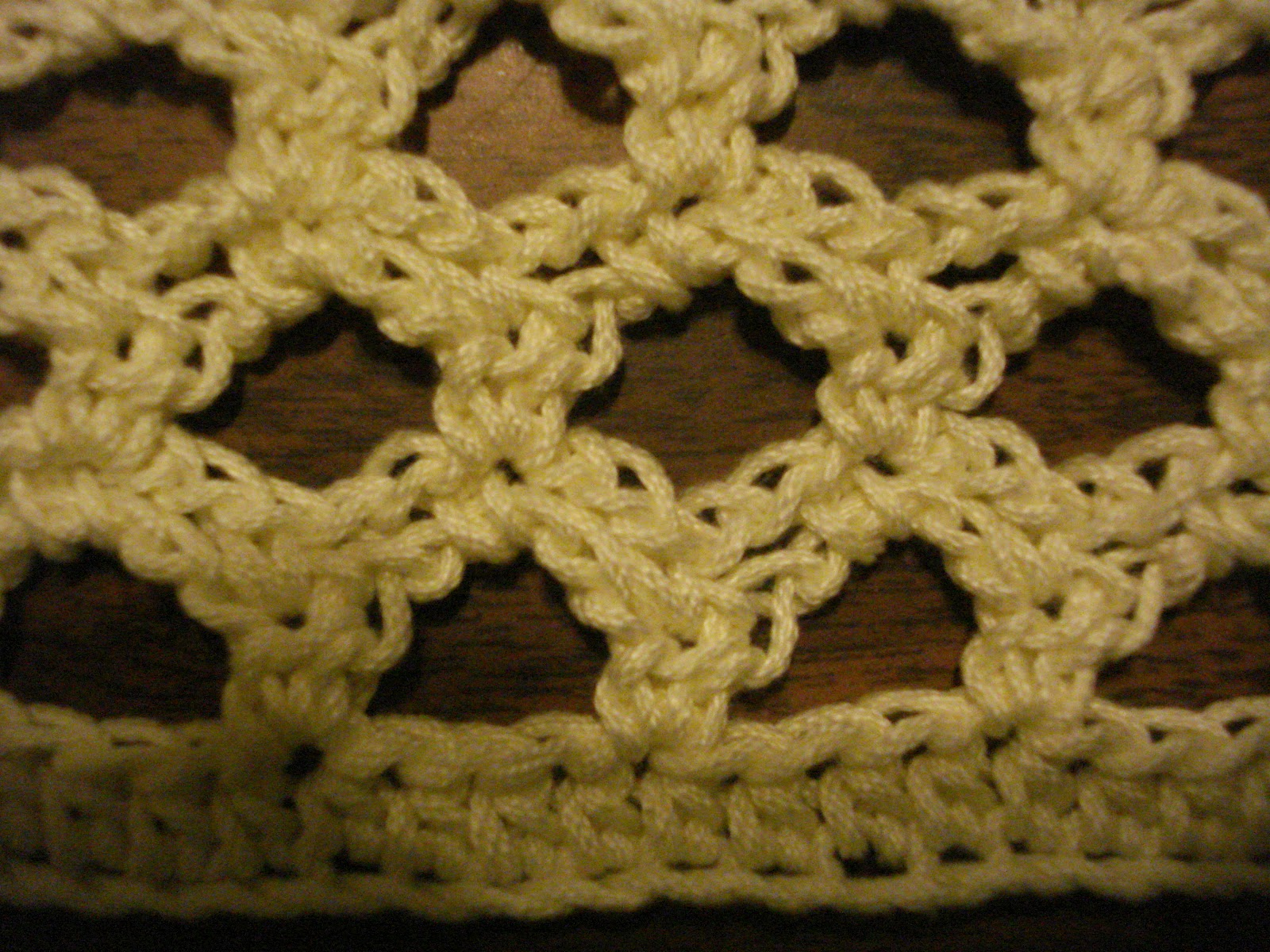 Crochet K Stitch : Mama Netties Crochet: Lovely Lace Pattern Stitch