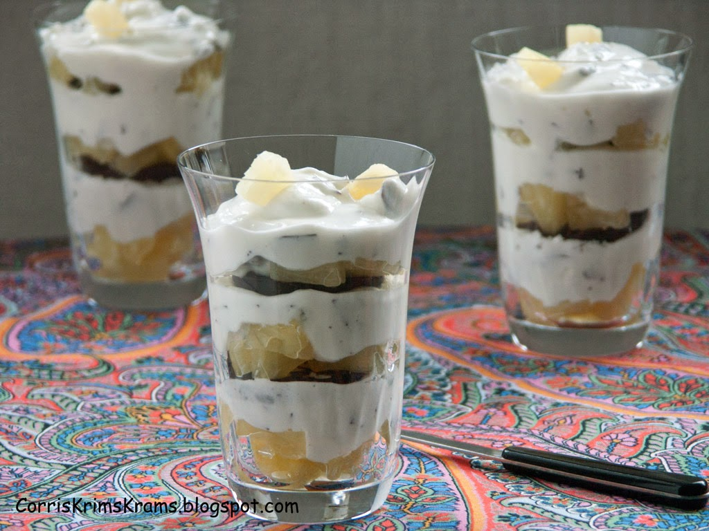 Dessert, Trifle, kalorienarm, Diät