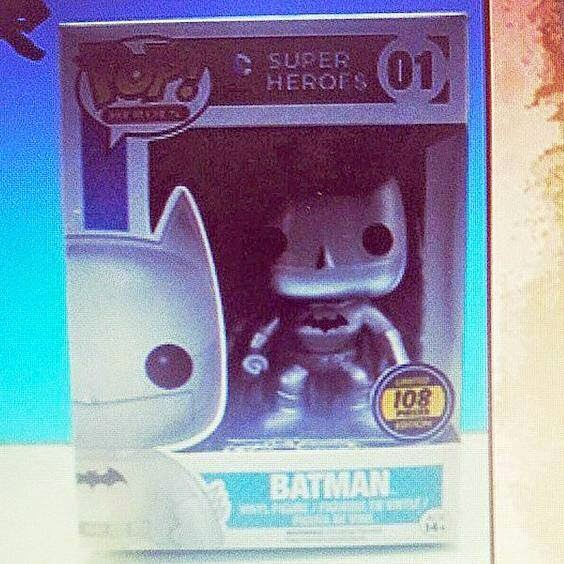 Funko Pop! Batman plateado