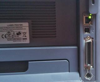 Stampante con Porte Ethernet + USB + Parallela