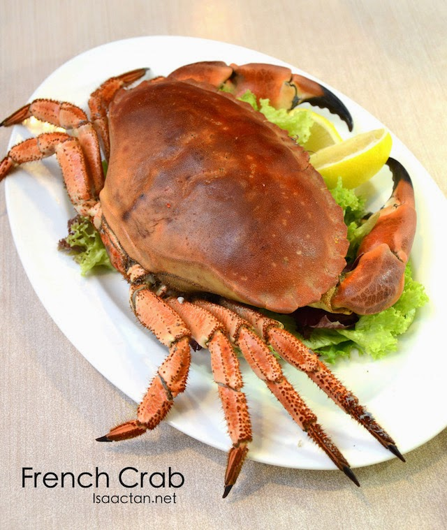 French Crab - RM99.90 - RM179.90, sizes 1KG - 1.8KG