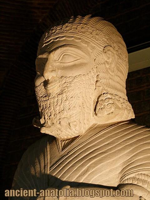 Statue of Hittite God-King at Ankara