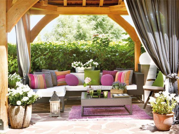 Bahçe ve teras bahçe tasarımları çevre düzenleme bahçe