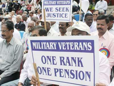 OROP Military Veterans