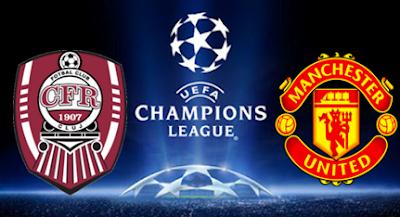 Keputusan Manchester United MU VS CFR Cluj 3 Oktober 2012 Liga Juara-Juara Eropah