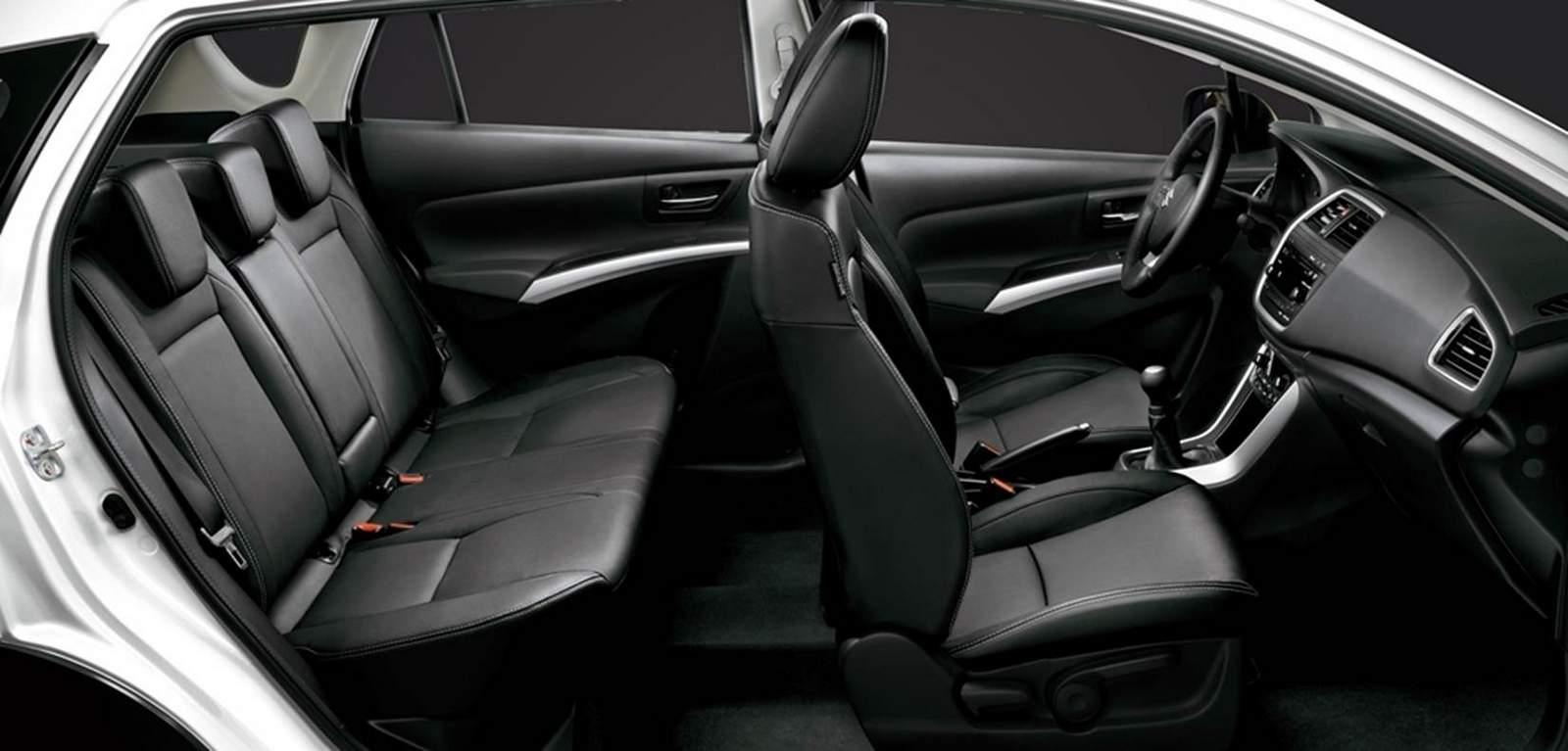 Suzuki S-Cross 2015 Brasil - interior