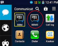 Free download BBM3.apk New Version Dual Pin BBM Android
