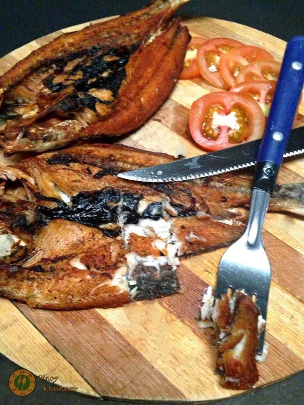 how to debone milkfish for daing