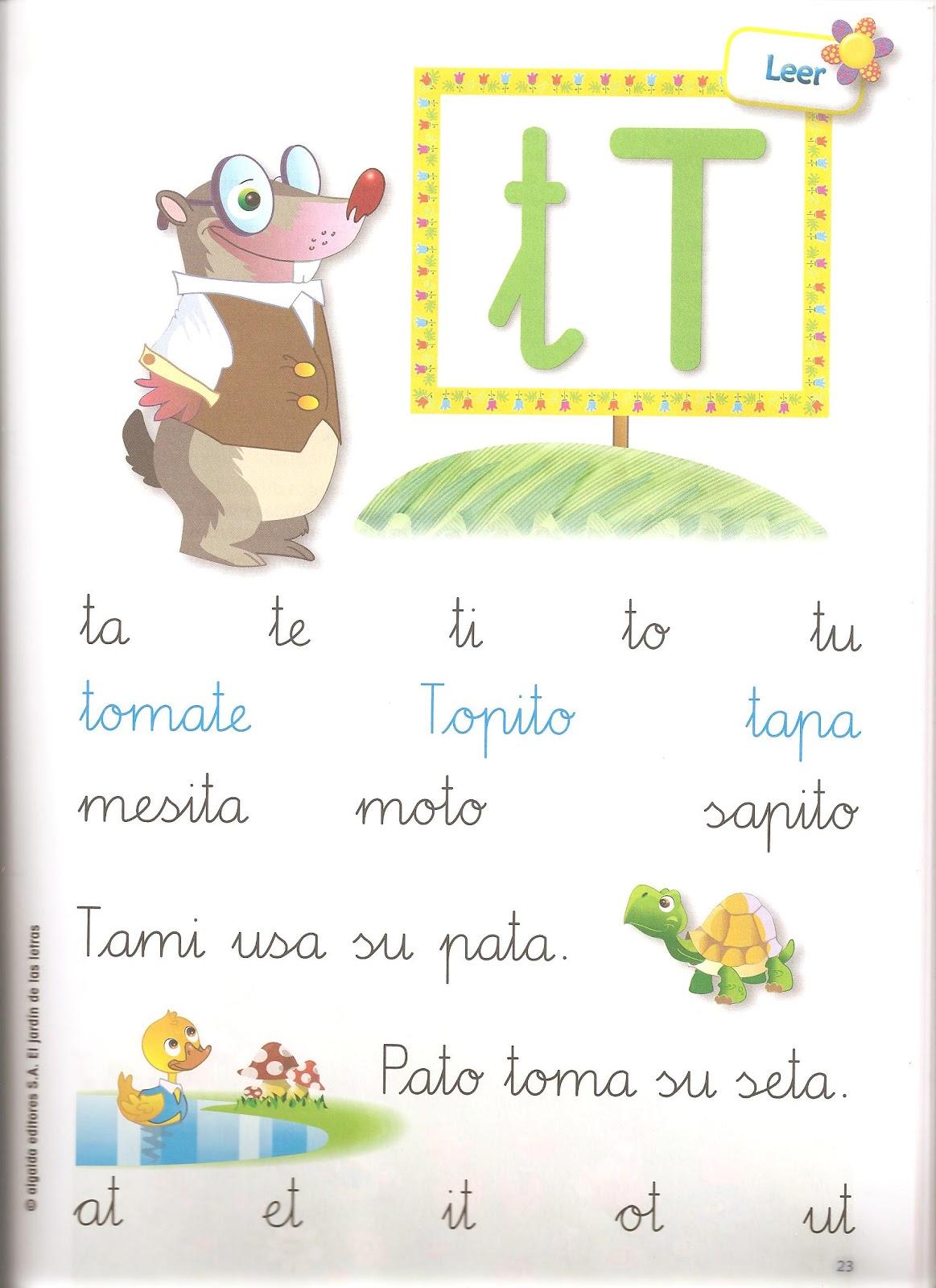 Cole infantil el jard n de las letras for El jardin de las letras