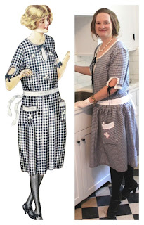 1920s house dress reproduction