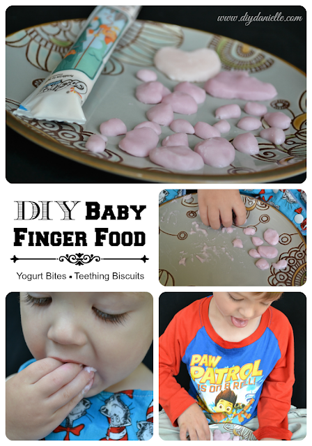 DIY Baby Finger Foods.