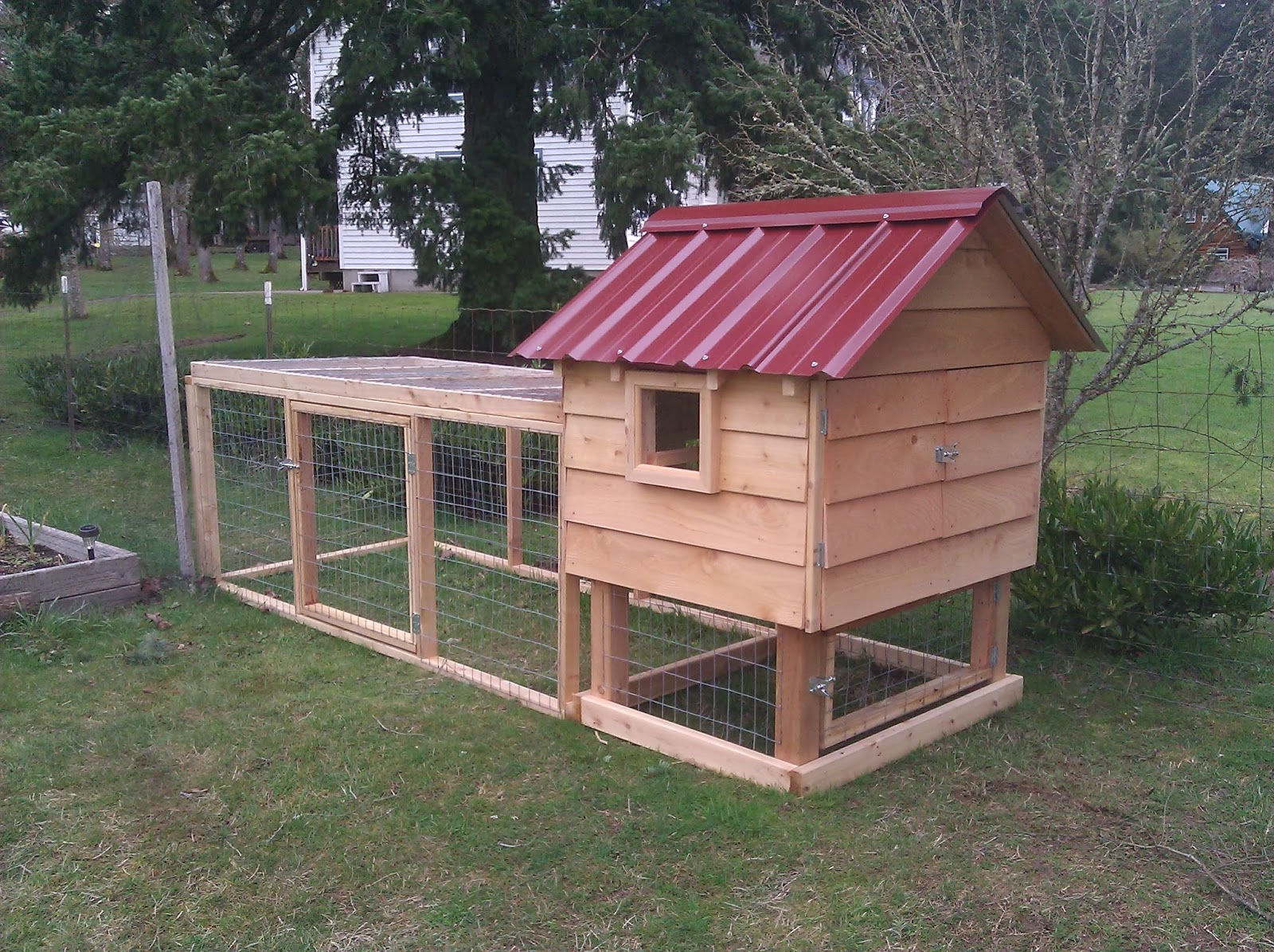 Chicken house plans how to build a chicken ark for A frame chicken house