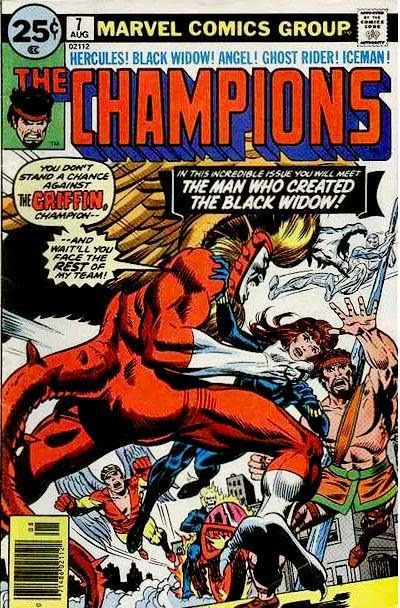 The Champions #7, the Griffin
