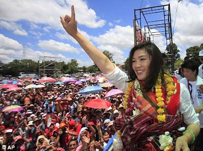 Yingluck Shinawatra bakal perdana menteri Thailand
