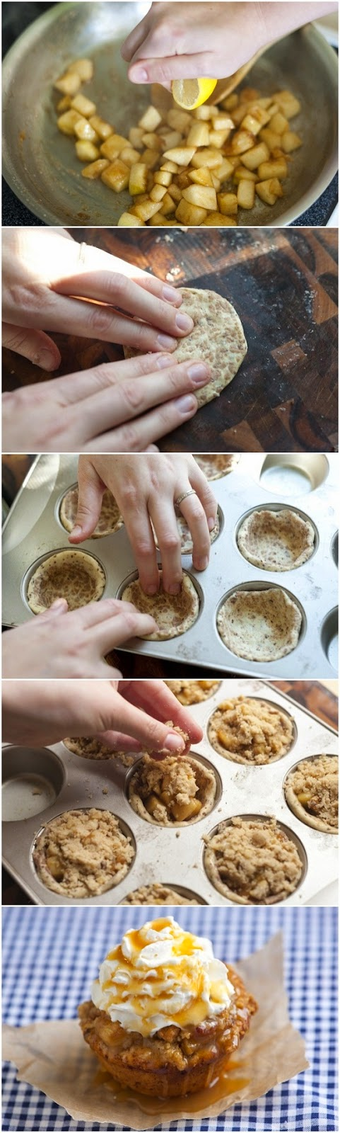 How To Make Apple Pie Cupcakes