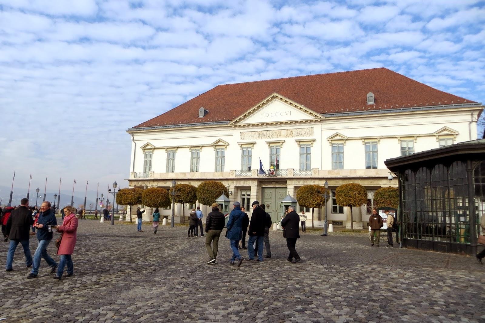itinerario collina del castello di budapest