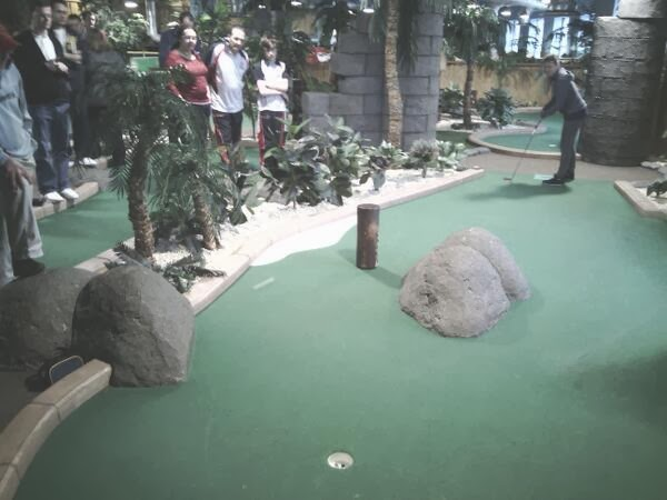 Adventure Island Mini Golf at Star City in Birmingham