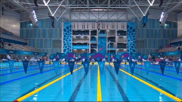 Juegos Europeos Bakú 2015 - Natación