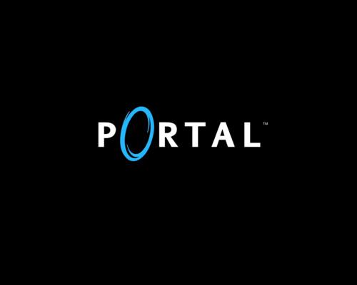 portal 2 logo. portal 2 logo render. portal 2