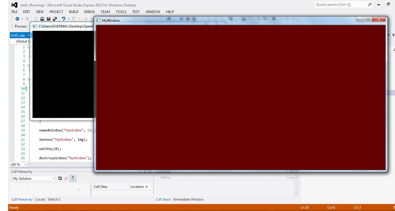 Opencv C Tutorial Read Amp Display Image