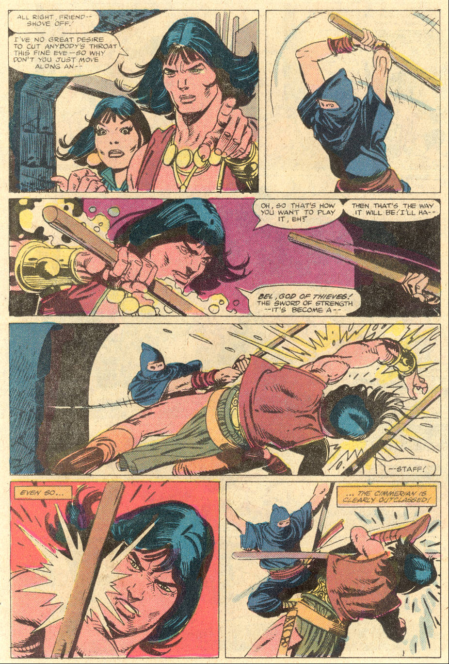 Conan the Barbarian (1970) Issue #130 #142 - English 8