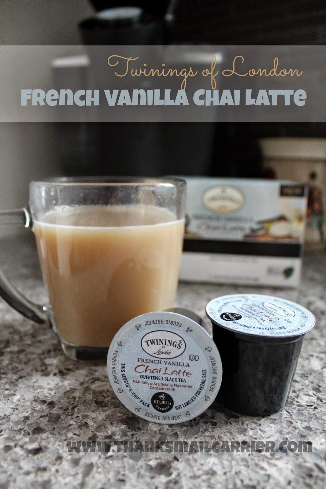 Twinings Vanilla Chai Latte
