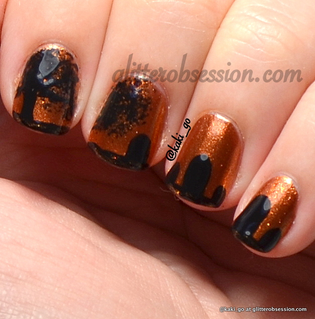 Halloween Nail Art: Tombstone