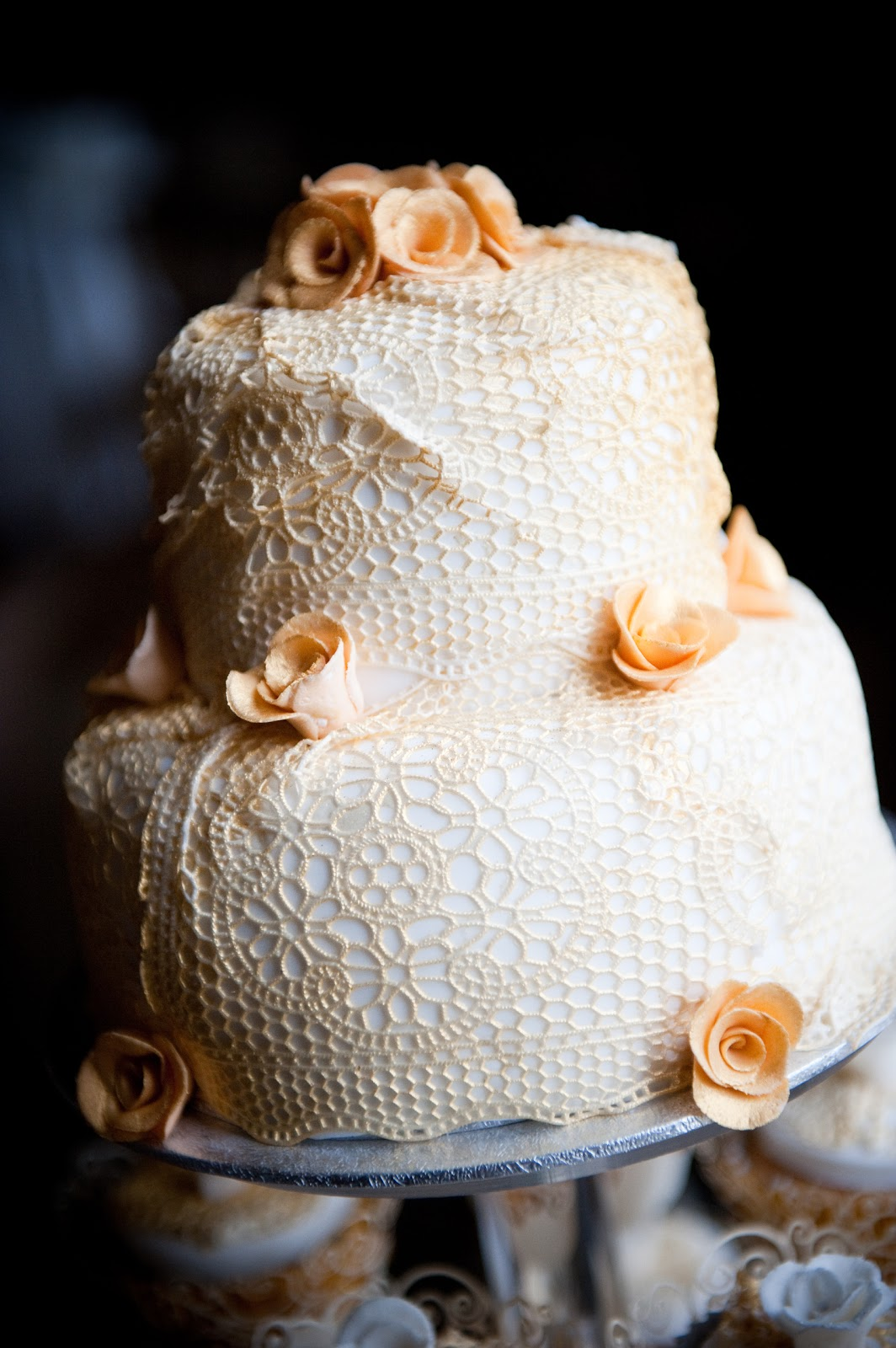 Amorra Weddings: Edible lace? Yes please!