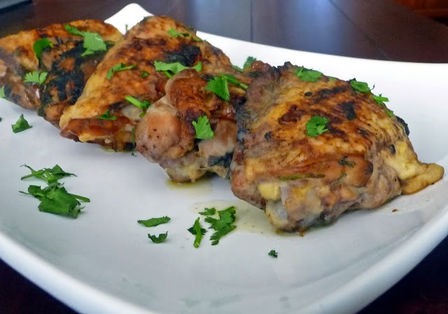 Thai Grilled Chicken Thighs | by Life Tastes Good