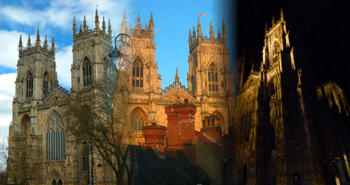 York Minster, cathedrals in England, Yorkshire, bit about Britain