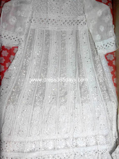 Wedding dress in Georgette online