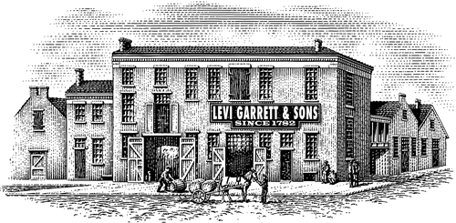 03-Levi-Building-Michael-Halbert-Scratchboard-Images-of-Animals-and-Architecture-www-designstack-co