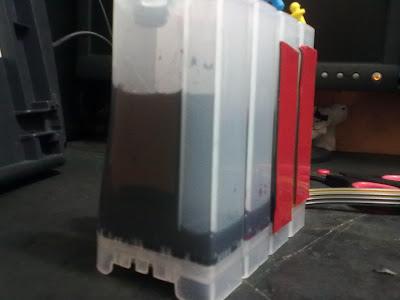 cantidad de tinta sistema