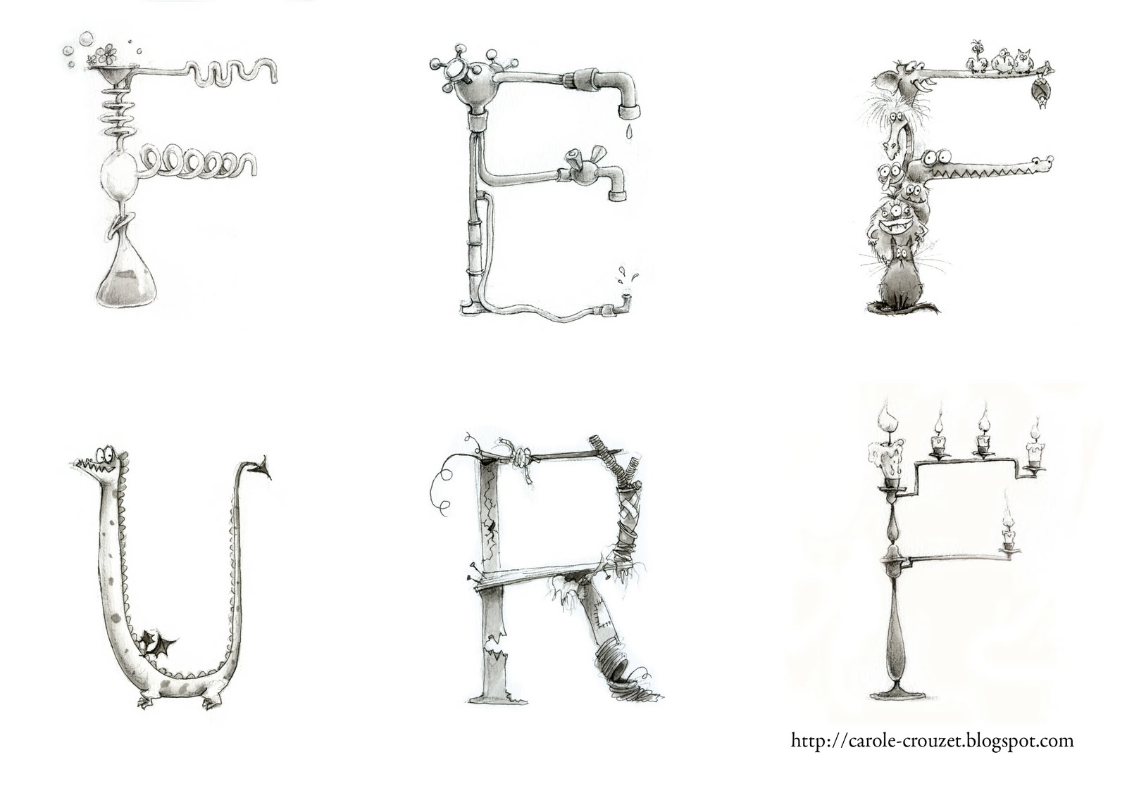 carole crouzet dessinatrice charivari chez les sorci res les origines. Black Bedroom Furniture Sets. Home Design Ideas