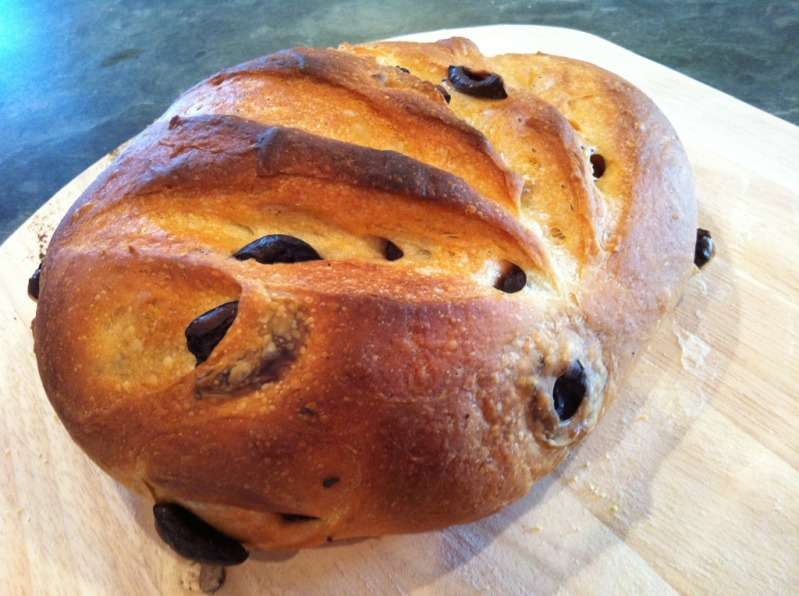 kalamata olive bread with oregano recipe myrecipes com kalamata olive ...