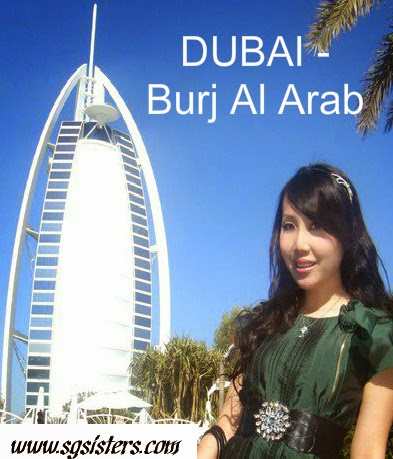 DUBAI - The Burj Al Arab - World's Most Luxurious 7-stars Hotel