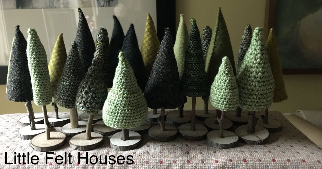 Little Felt Houses
