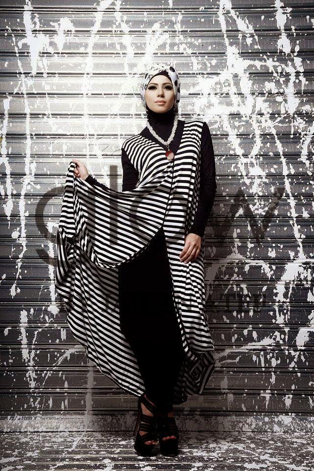 Elegant hijab styles