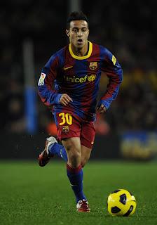 Thiago renovó su contrato con Barcelona