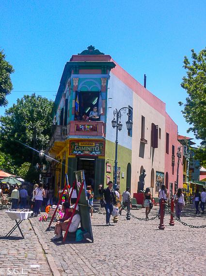 Buenos Aires, el Caminito. Argentina