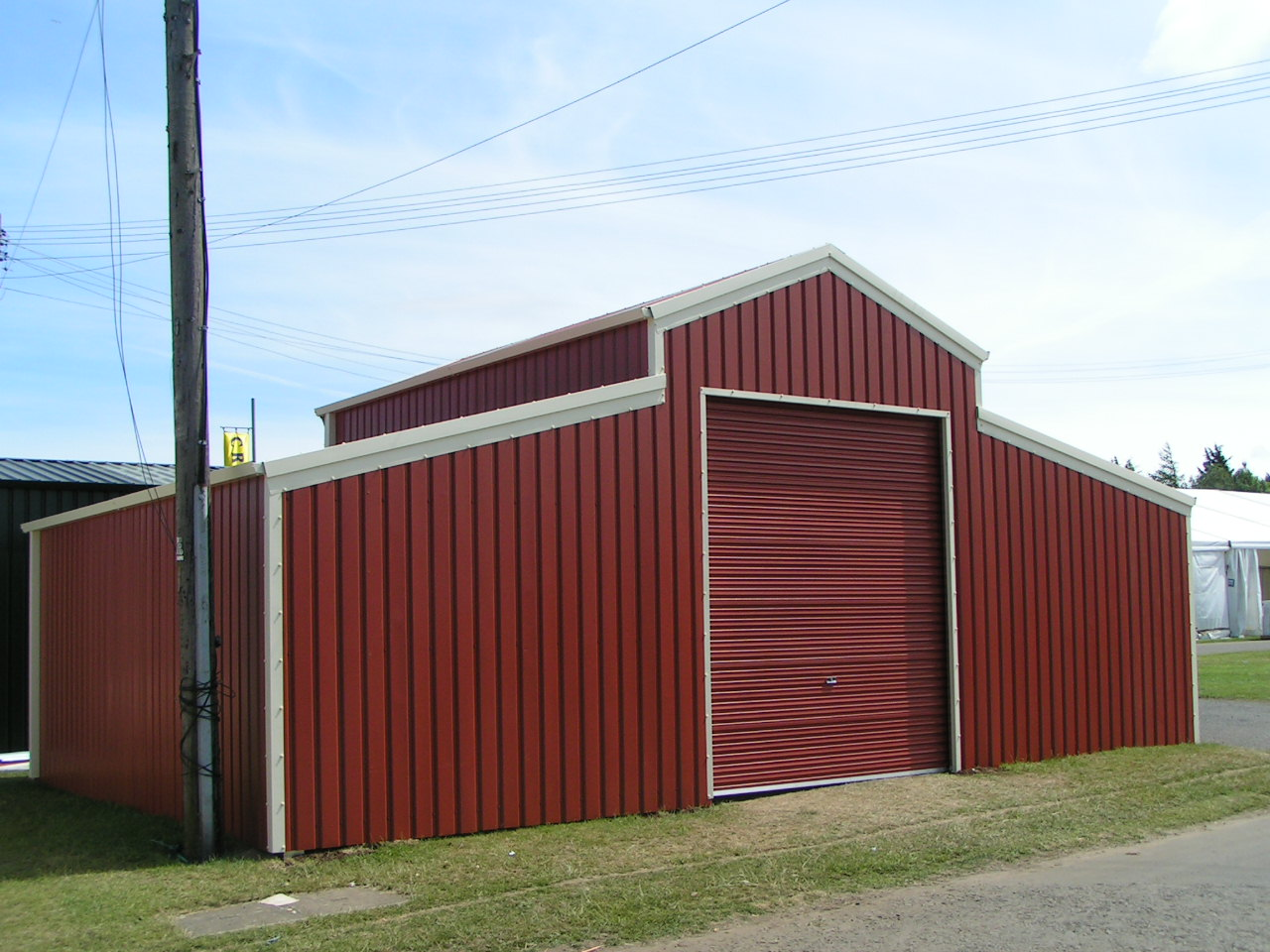Ulisa 8x6 metal shed cheap for Cheap barn kits