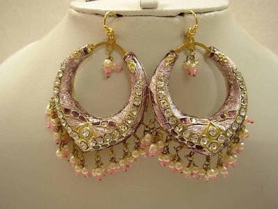 Indian Jewellery design 2016 Earrings For Girls Gold