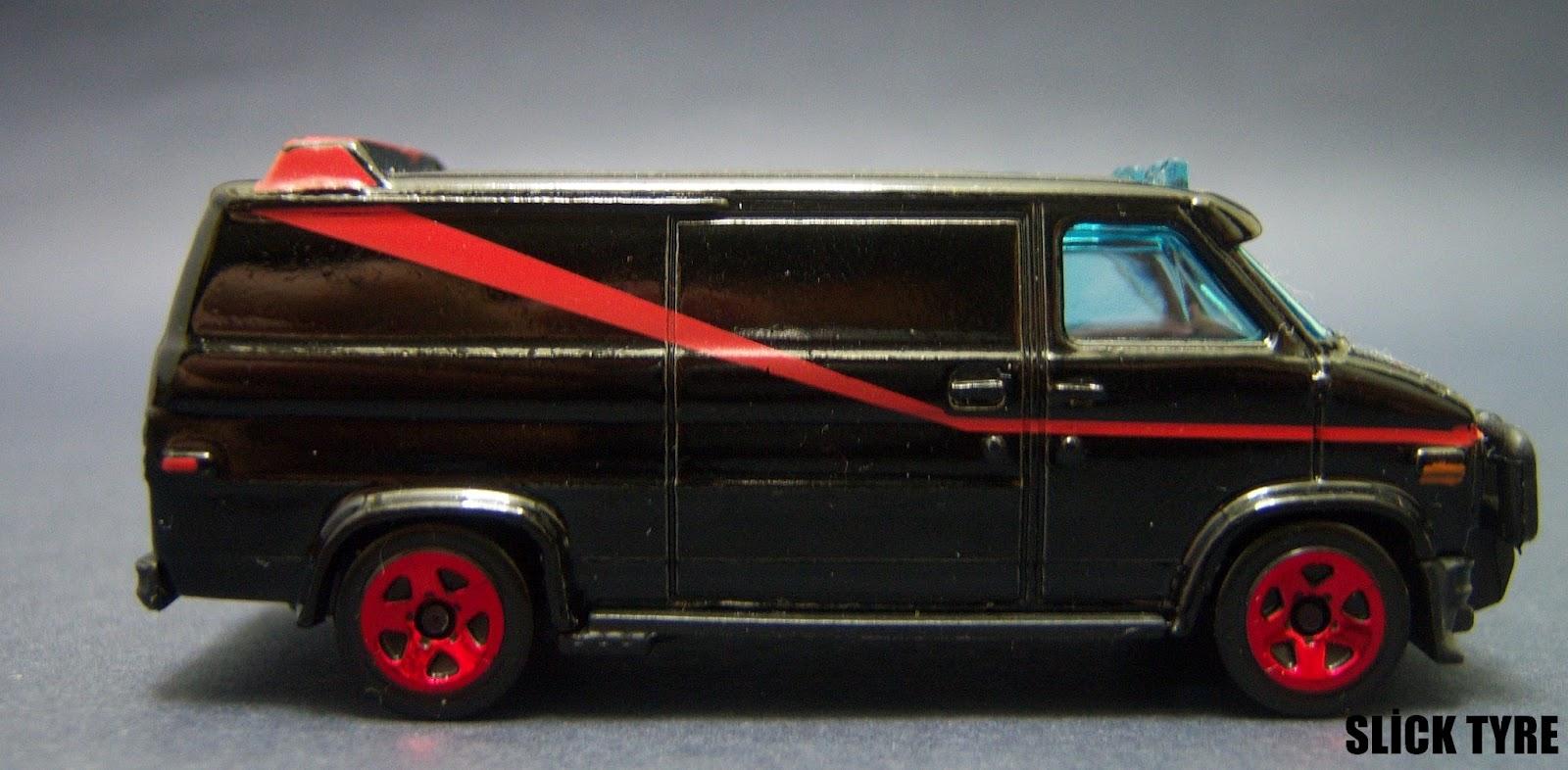 slick tyre diecast car collection hotwheels a team car. Black Bedroom Furniture Sets. Home Design Ideas